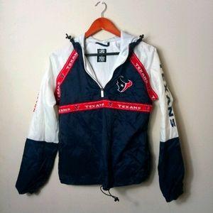 NFL Houston Texans Pullover Hoodie Jacket XS